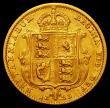 London Coins : A164 : Lot 1074 : Half Sovereign 1893 Jubilee Head, No J.E.B, S.3869D GF/NVF