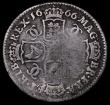 London Coins : A164 : Lot 1294 : Shilling 1666 Guinea Head with Elephant below ESC 1027, Bull 509, Fair/NVG the obverse with scratche...