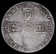 London Coins : A164 : Lot 1296 : Shilling 1697 First Bust, Irish shield at date, ESC 1091B, Bull 1119, rated R5 by Bull, we note the ...