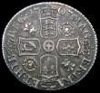 London Coins : A164 : Lot 1330 : Sixpence 1707 Roses and Plumes ESC 1586 Bull 1451  Good Fine with some grey toning