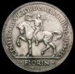 London Coins : A164 : Lot 289 : Australia Florin 1934-5 Centenary of Victoria and Melbourne KM#33 VF