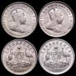 London Coins : A164 : Lot 297 : Australia Threepence 1910 EF - Unc (4)