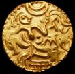 London Coins : A164 : Lot 326 : Ceylon, Kings of Kandy, Kahavanu Gold (Stater) c.980-1070 Anonymous issue Mitchener 825, 4.43 gramme...