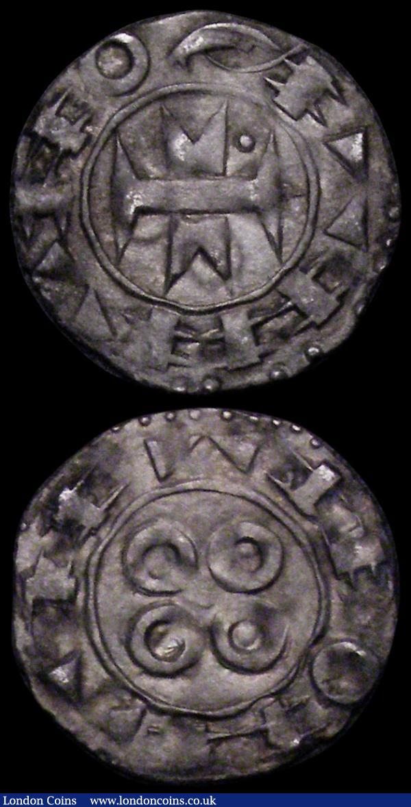 France (2) 1/3rd Ecu 1720 KM#457.1 GF/NVF pleasantly toned showing traces of the understruck coin, France Feudal 11th to 13th Century Denier Bishops of Maguelonne NVF  : World Coins : Auction 164 : Lot 360