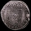 London Coins : A164 : Lot 372 : German States - Lorraine Teston Henry II undated (1608-1624) KM#17.1, Fine