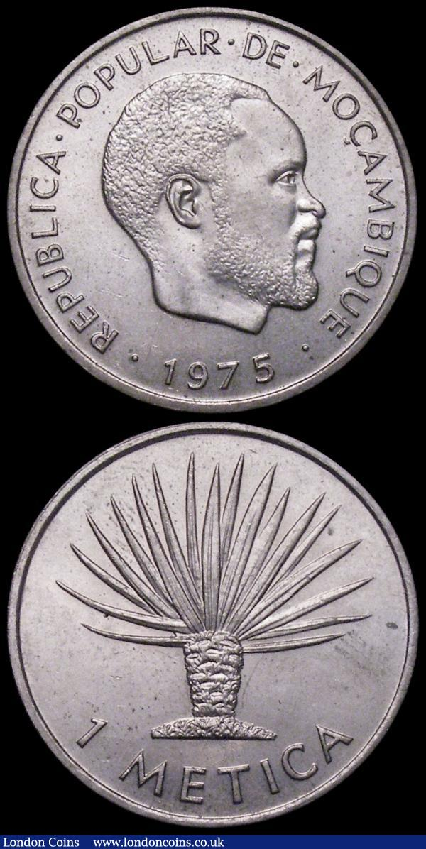 Bronze,Circulated Lot KM82 60 Mozambique 1 Escudo Coins 1973