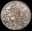 London Coins : A164 : Lot 526 : Turkey - Ottoman Empire Selim III Milled Coinage Yuzluk AH1203/10 (1799) NVF with some weakness of s...