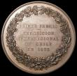 London Coins : A164 : Lot 656 : Chile International Exposition 1875 First Prize Medal 67mm diameter in copper by A.Dubois A/UNC with...