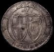 London Coins : A164 : Lot 827 : Crown 1656 large 6 over small 6 over 4 ESC 9A GEF all detail sharp and crisp an exceptional piece