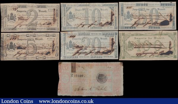 12 Banknotes 2x 20-5.000 Francs Issue 1939-1945 09
