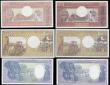 London Coins : A165 : Lot 1210 : Gabon 500 Francs Pick 2a (1974), 1000 Francs 1.1.1985 Pick 9, 5000 Francs Pick 6, Chad 500 Francs 1....