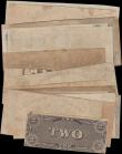 London Coins : A165 : Lot 1274 : USA Confederate States & Obsolete Currency (22) in mixed grades comprising Richmond Virginia iss...