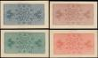 London Coins : A165 : Lot 1278 : USA World's Columbian Exposition Chicago admission tickets set (4) dated 1st May to 30th Octobe...