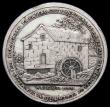 London Coins : A165 : Lot 1324 : Halfpenny 18th Century Scotland - Perthshire, Perth 1797 Church and Watermill DH4 restrike in silver...