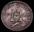 London Coins : A165 : Lot 1357 : Elizabeth I - Defence of the Kingdom, undated (c.1570) Medalet cast in silver, 23mm diameter, by E.M...