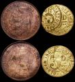 London Coins : A165 : Lot 1441 : Gaming Counter Simon de Passee Edward III Fine with a small hole and a small plug, along with Mint E...