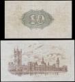London Coins : A165 : Lot 16 : Treasury Warren Fisher Second Issues (2) comprising Ten Shillings T30 Red No. omitted issue 1922 ser...