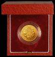 London Coins : A165 : Lot 1660 : Sovereign 1989 500th Anniversary of the first gold Sovereign Proof, the obverse EF the reverse nFDC ...