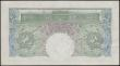 London Coins : A165 : Lot 184 : One pound Peppiatt SPECIMEN (B238s) issued 1934 serial Q00 000000, EF or better and scarce