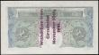 "London Coins : A165 : Lot 186 : One Pound Green Peppiatt B239C Type C Full stop after year, reverse only. Guernsey overprint ""W..."