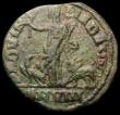 London Coins : A165 : Lot 2103 : Roman Sestertius Ae26 Aemilian, Dacia, (252-253AD) Obverse: Bust right cuirassed and draped IMP C M ...