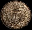 London Coins : A165 : Lot 2132 : Austria Thaler 1637 Ferdinand III KM 840 Davenport 3174 VF small flan crack at 12 o'clock