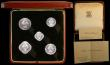 London Coins : A165 : Lot 2137 : Burma Proof Set 1949 (5 coins) KM#PS1 comprising 8 Pe, 4 Pe, 2 Pe, Pe, and 2 Pyas VIP Proofs/Proofs ...