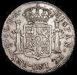 London Coins : A165 : Lot 2142 : Chile 8 Reales 1790 DA KM#39 Fine or better with some scratches and surface marks, Rare