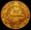 London Coins : A165 : Lot 2163 : France 20 Francs Gold An12A Bonaparte Premier Consul legend, KM#651 Fine