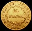 London Coins : A165 : Lot 2164 : France 20 Francs Gold An14A KM#663.1 Fine