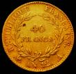 London Coins : A165 : Lot 2168 : France 40 Francs Gold An12A KM#652 Fine