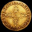 London Coins : A165 : Lot 2169 : France Ecu d'Or 1641A Reduced size, of finer style KM#123 Fine with a small edge chip by the date, a...