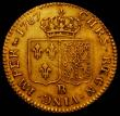 London Coins : A165 : Lot 2172 : France Louis d'Or 1787B KM#591.3 GF/NVF