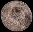 London Coins : A165 : Lot 2192 : German States Saxe-Old-Gotha Thaler 1613 facing busts obverse, knight on horseback reverse Davenport...