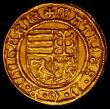 London Coins : A165 : Lot 2197 : Hungary Ducat Matthias Corvinus 1458-90 Friedburg 20 EF or near so