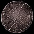 London Coins : A165 : Lot 2250 : Scotland Merk 1673 S.5611 VF with old grey tone, the reverse with some adjustment lines, very little...