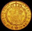 London Coins : A165 : Lot 2281 : Spain 4 Escudos 1787 DV Charles III GVF/EF the reverse with sharp almost prooflike fields one or two...