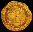 London Coins : A165 : Lot 2282 : Spain Gold Escudo Carlos I and Juana undated (1516-1556) Segovia Mint , 2.99 grammes, GF/NVF