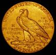 London Coins : A165 : Lot 2303 : USA 2 1/2 Dollars Gold 1912 Breen 6335 GEF