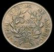 London Coins : A165 : Lot 2308 : USA Cent 1803 10 Berries, Small Date, Blunt 1 in date. Small Fraction. Breen 1754. VF by English gra...