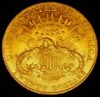 London Coins : A165 : Lot 2365 : USA Twenty Dollars Gold 1905 Breen 7345 NEF/EF, Rare with only 58,919 minted