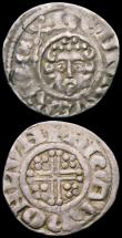 London Coins : A165 : Lot 2433 : Pennies (3) Henry III Long Cross London Mint, moneyer Henri, Henry III Short Cross, London Mint, mon...