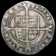 London Coins : A165 : Lot 2474 : Sixpence Edward VI Fine silver issue S.2483 mintmark Tun Good Fine, toned