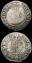 London Coins : A165 : Lot 2485 : Sixpences Elizabeth I (2) 1565 Small Bust 1F, Inner beaded circle of 17.5mm S.2561 mintmark Rose Fin...