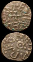 London Coins : A165 : Lot 2487 : Styca (3) Eanred, Aethelred II and Archbishop Wigmund, each About Fine to Fine