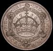 London Coins : A165 : Lot 2544 : Crown 1936 ESC 381, Bull 3649 EF toned with a tone spot on the obverse