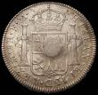 London Coins : A165 : Lot 2556 : Dollar George III small oval countermark on Mexico City 8 Reales 1795, ESC 129, Bull 1852 Countermar...