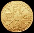 London Coins : A165 : Lot 2607 : Guinea 1721 S.3631 VG Ex-Jewellery
