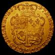 London Coins : A165 : Lot 2610 : Guinea 1747 S.3680 Near EF and lustrous, with some light scattered haymarks, very attractive and wit...
