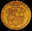 London Coins : A165 : Lot 2616 : Guinea 1774 S.3728 About Fine, Ex-Jewellery